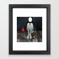 In halt Framed Art Print