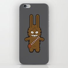Sr. Trolo / Chewbacca gray iPhone & iPod Skin