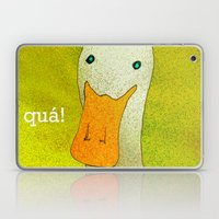 White Duck! Laptop & iPad Skin