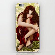 Portrait iPhone & iPod Skin