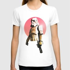 Stormtrooper Womens Fitted Tee White X-LARGE
