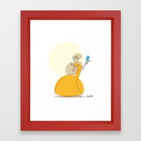 The Princess And The Twe… Framed Art Print