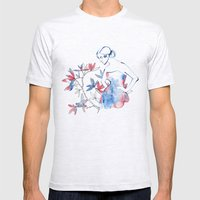 Bonjour Mademoiselle Mens Fitted Tee Ash Grey SMALL