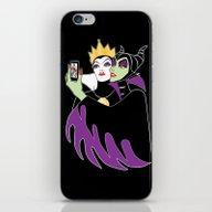 iPhone & iPod Skin featuring Grimhilde & Maleficent S… by SwanStarDesigns