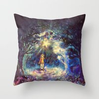 Forgotten Wish Throw Pillow