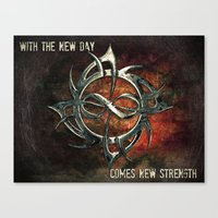 New Day Canvas Print