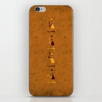 Forms of Prayer - Yellow iPhone & iPod Skin
