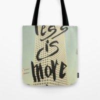 Less Is More - Los Angel… Tote Bag