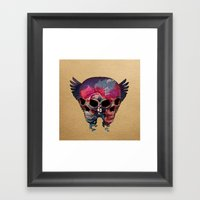 The Falling Framed Art Print