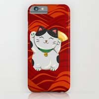 "iPhone & iPod Case featuring FortuNEKO - ""Bubbles"" by AnishaCreations"