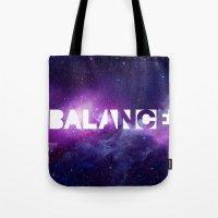 BALANCE_Galaxy Version Tote Bag