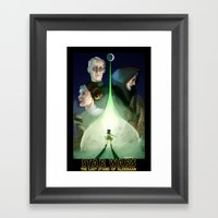 The Last Stand Of Aldera… Framed Art Print