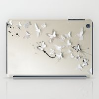 Butterfly Birds iPad Case