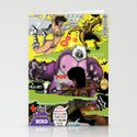 Space Chick & Nympho: Vampire Warrior Party Girl Comix #2 - Comic Book Cover Stationery Cards