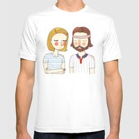 Secretly In Love Mens Fitted Tee White SMALL