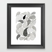 Paisley Framed Art Print