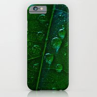 Green Bubbles iPhone 6 Slim Case
