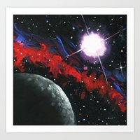 The Unknown. Art Print