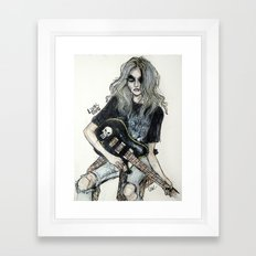This Is A Rock Band Framed Art Print