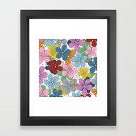Cherry Blossom Colour - … Framed Art Print