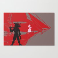 A Piratical Diversion Canvas Print