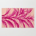 Pink Palms Rug