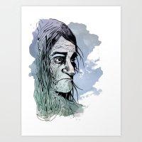 The Mirada Art Print