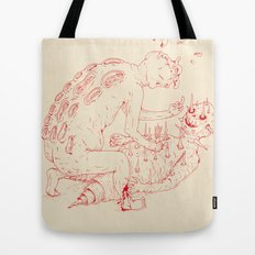 Between Two Gods Tote Bag