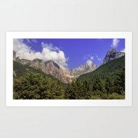 Wild Italy Art Print