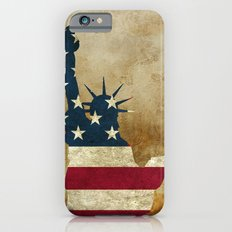 Vintage Statue of Liberty iPhone 6s Slim Case