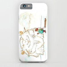 A Friendly Snow Monster iPhone 6 Slim Case