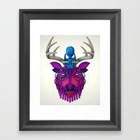 Artificial Mythology Framed Art Print