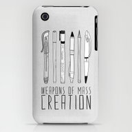 Weapons Of Mass Creation iPhone (3g, 3gs) Slim Case