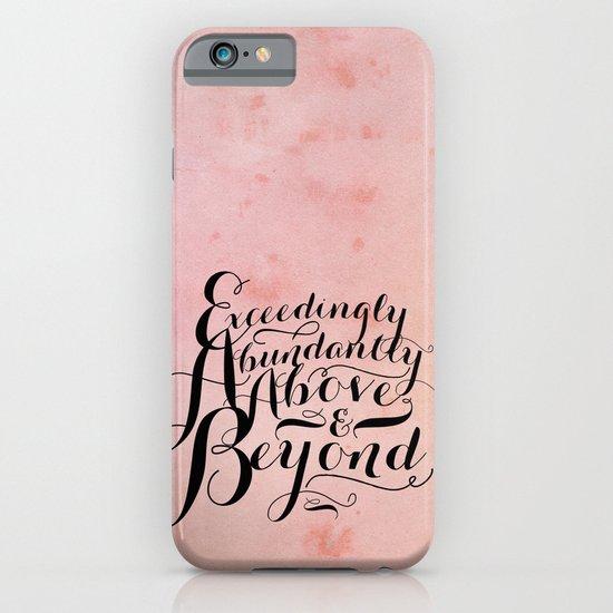 Eph 3-20 Exceedingly iPhone & iPod Case