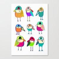 Little Owls. Canvas Print