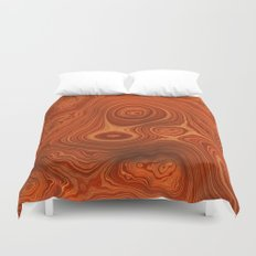 Topography Duvet Cover