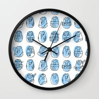 Pig Family Wall Clock