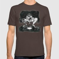 The Catcher: An Enigmatic Two Mens Fitted Tee Brown SMALL