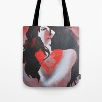 Naked Heart Tote Bag