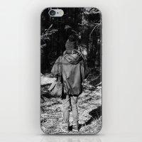 Girl in the Woods iPhone & iPod Skin