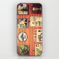Vintage Signs iPhone & iPod Skin