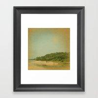 Wherever Your Island Is Framed Art Print