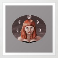 My Moon, My Man Art Print