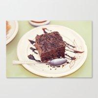 dessert Canvas Print