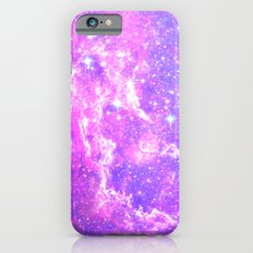 Pink Galaxy Slim Case iPhone 6s