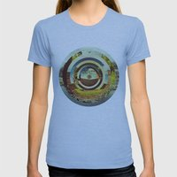 Pandemonio Womens Fitted Tee Athletic Blue SMALL