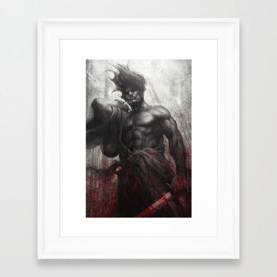 Samurai Spirit Musou Framed Art Print