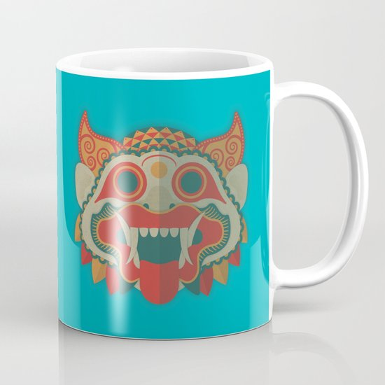 Paper Mask Mug