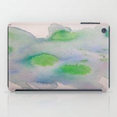 Lime Burst iPad Case