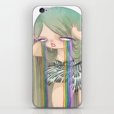 Rainbow River iPhone & iPod Skin